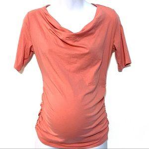 Motherhood Maternity pink blouse XS